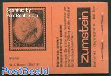 Folklore booklet, Orange cover, Mozart d