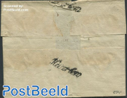 Folding cover to Amsterdam with Haarlem mark